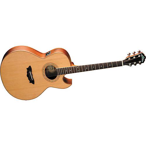Washburn EA52SWCE Cutaway Acoustic-Electric Guitar w/case-thumbnail