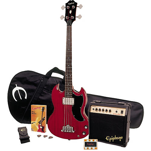 Epiphone EB-0 Gig Rig Bass Player Pack