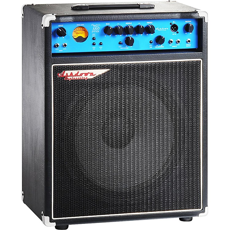 AshdownEB 15-180 Electric Blue  EVO II 180W 1x15 Bass Combo Amp