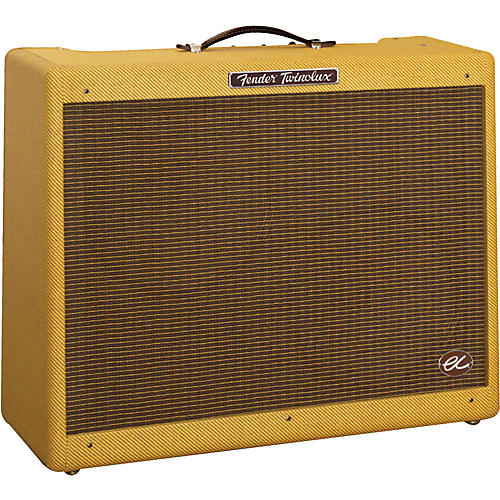 Fender EC Twinolux 40W 2x12 Hand-Wired Tube Guitar Combo Amp