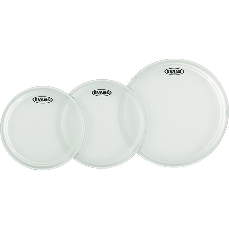 EvansEC1 Coated Fusion Drumhead Pack