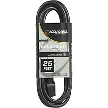 American DJ EC123 12 Gauge IEC Power Extension Cord 50 ft. 25 ft.