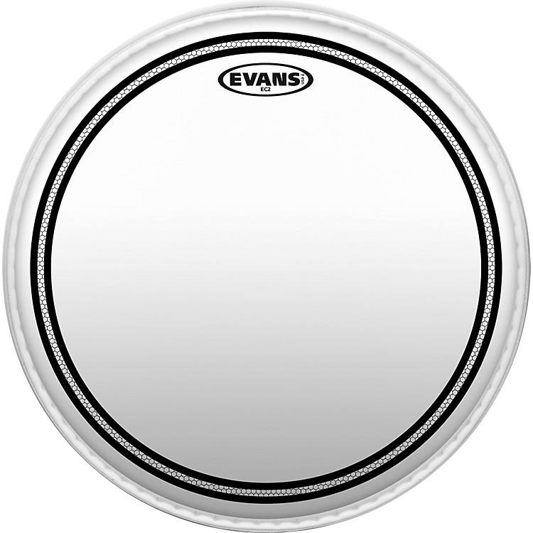 EvansEC2 SST Clear Batter Drumhead13