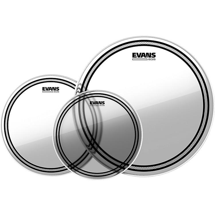 EvansEC2 SST Clear Drumhead PackStandard - 12/13/16