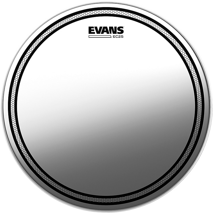 Evans EC2S Frosted Drumhead 10