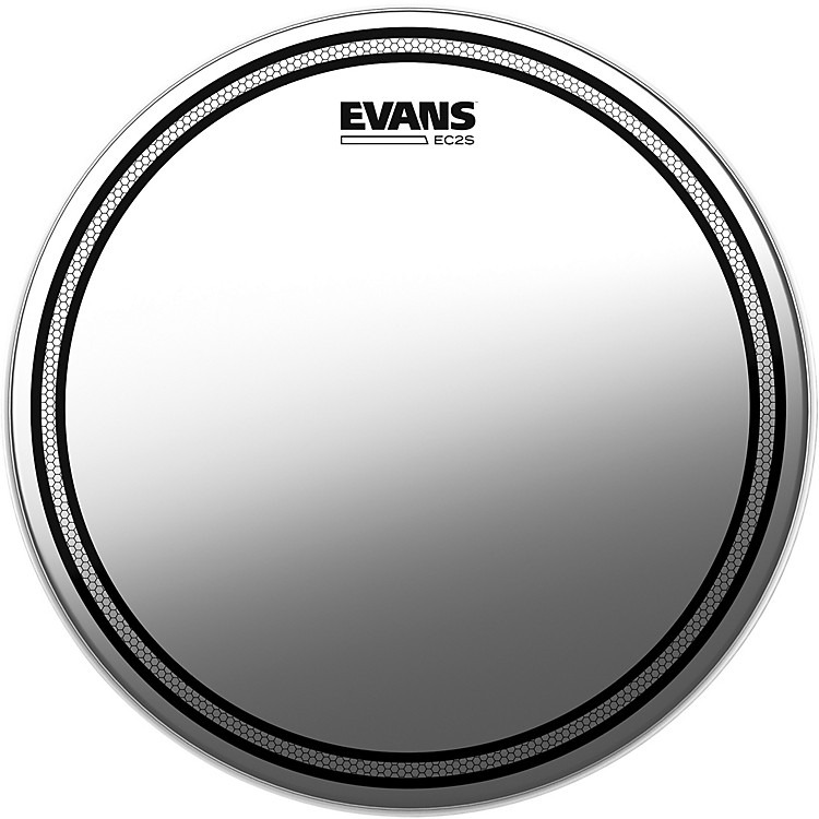 Evans EC2S Frosted Drumhead 18