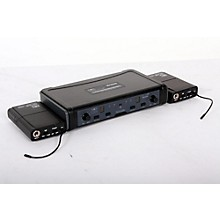 Galaxy Audio ECD Dual Channel UHF Wireless System with Dual Lavalier Microphones Level 2 Band L 888365777863