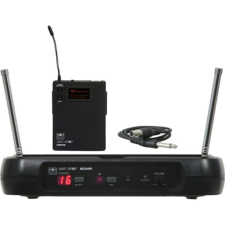 Galaxy AudioECM Guitar Wireless SystemD