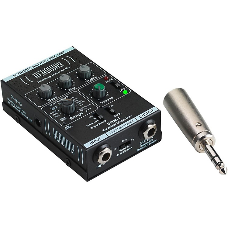 HeadwayEDM-1 Mini Direct Preamp with Power Supply