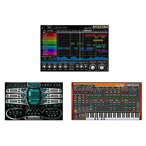 SUGAR BYTES EDM Software Synth Bundle