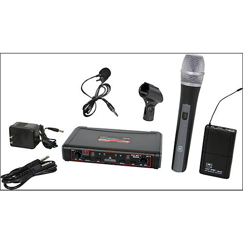 Galaxy Audio EDXR/HHBPV Dual-Channel Wireless Handheld and Lavalier System-thumbnail