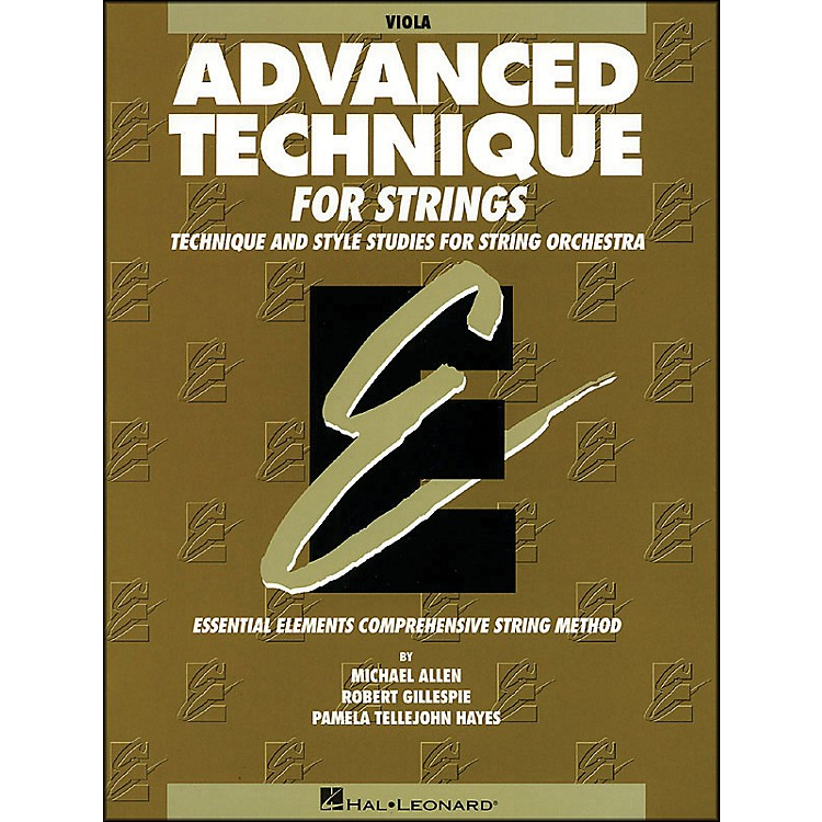 Hal Leonard EE Advanced Technique for Strings Viola