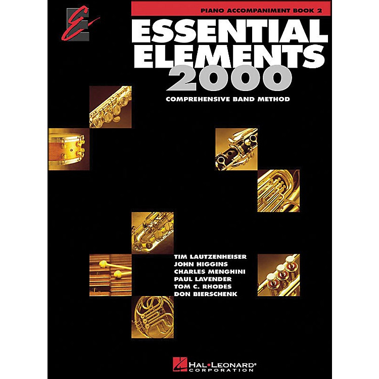 Hal Leonard EE2000 Book2 Piano Accompaniment Book Book Only