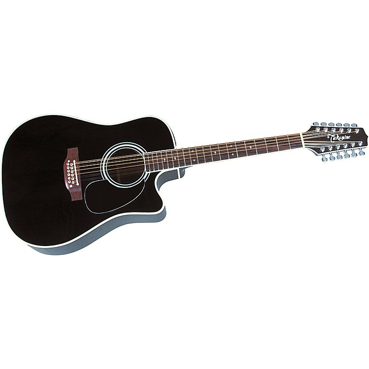 Takamine EF-381C 12-String Acoustic-Electric Cutaway Guitar