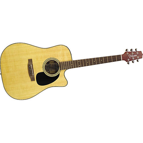 Takamine EF340SC Cutaway Dreadnought Acoustic-Electric Guitar
