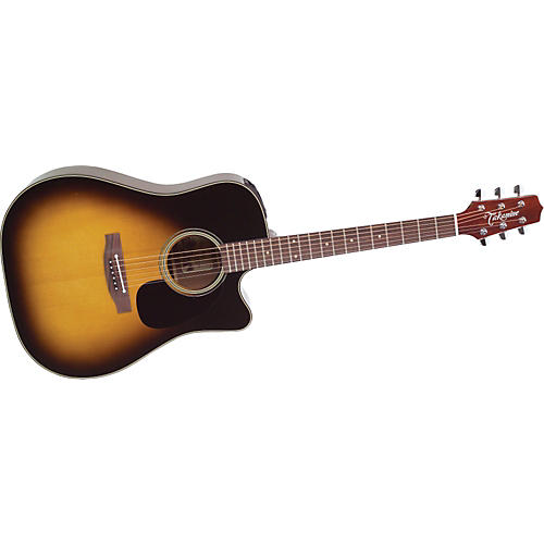 Takamine EF340SC Dreadnought Acoustic-Electric Guitar