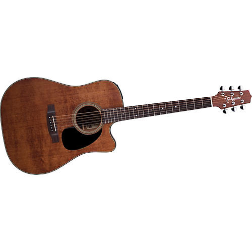Takamine EF340SCGN Dreadnought Antique Acoustic-Electric Guitar