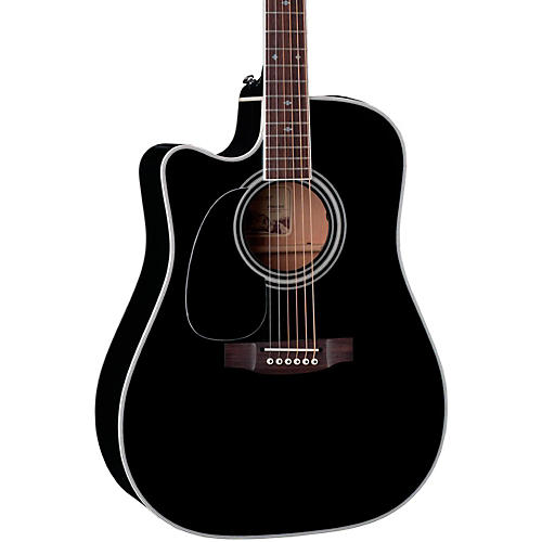 Takamine EF341SC-LH Legacy Series Dreadnought Left-Handed Acoustic-Electric Guitar