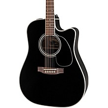 Takamine EF341SC Legacy Series Acoustic-Electric Guitar Black