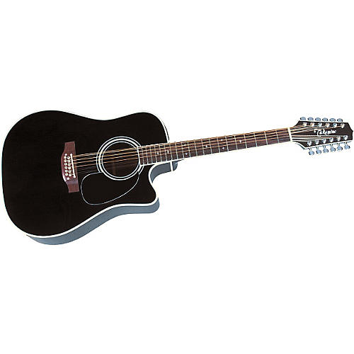 Takamine EF381SC 12-String Acoustic-Electric Cutaway Guitar-thumbnail