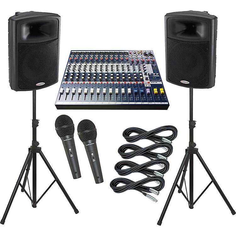 SoundcraftEFX12 / Harbinger APS15 PA Package