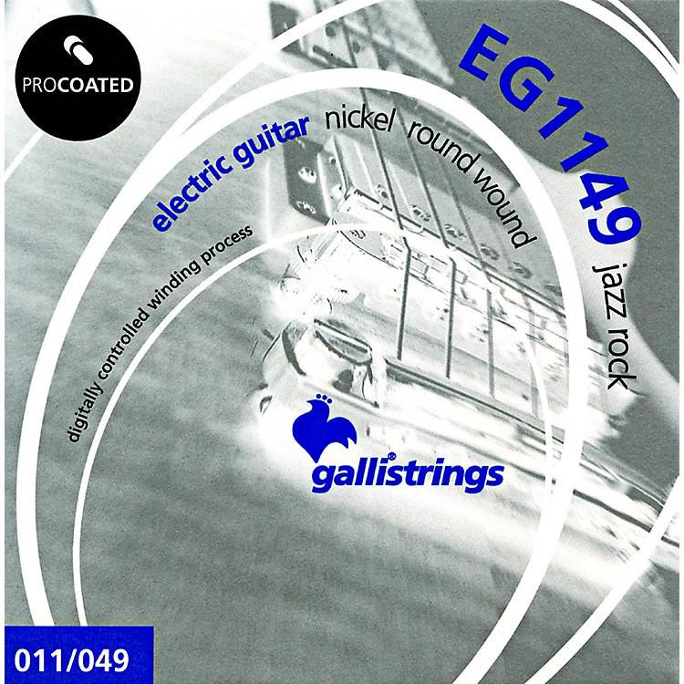 Galli StringsEG1149 PROCOATED Jazz Rock Electric Guitar Strings 11-49