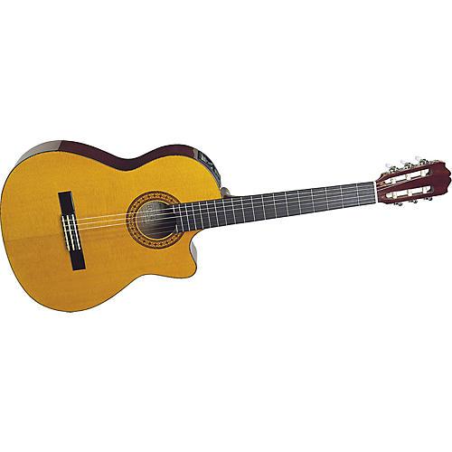 Takamine EG124C G Series Cutaway Acoustic-Electric Classical Guitar-thumbnail