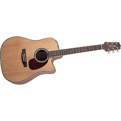 Takamine EG340DLX Dreadnought Cutaway Acoustic-Electric Guitar