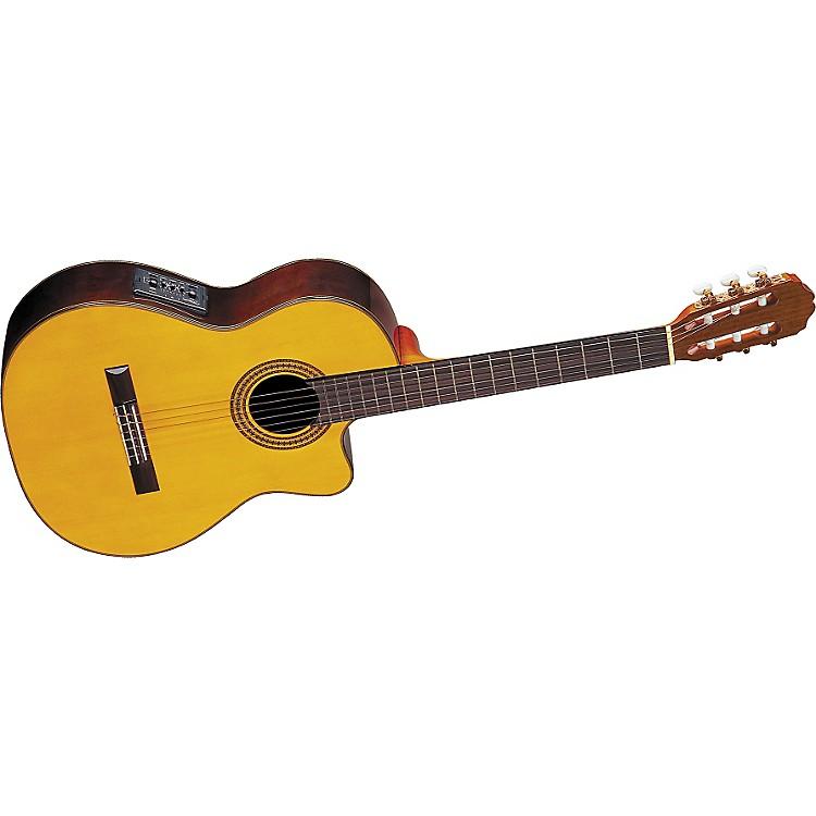 TakamineEG522C Classical Cutaway Acoustic-Electric Guitar