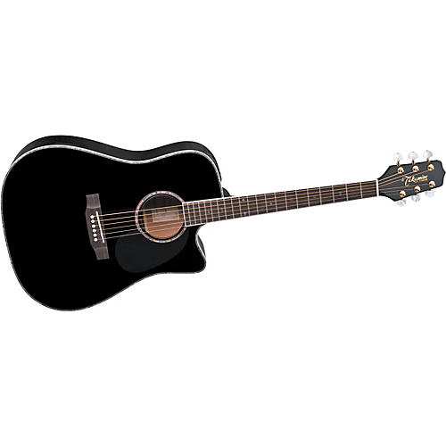 Takamine EG531DLX Solid Spruce Top Acoustic-Electric Guitar