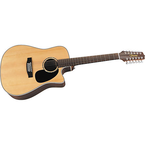 Takamine EG535SC G Series Solid-Top 12-String Acoustic-Electric Guitar