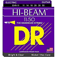 DR Strings EHR11 HiBeam Nickel Heavy Electric Guitar Strings