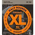 D'Addario EHR340 Half Round Light Top Heavy Bottom Electric Guitar Strings  Thumbnail