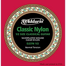 D'Addario EJ27 Nylon Classical Guitar Strings - 1/2 Size