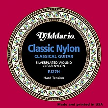 D'Addario EJ27H Classical Guitar Strings Hard Tension