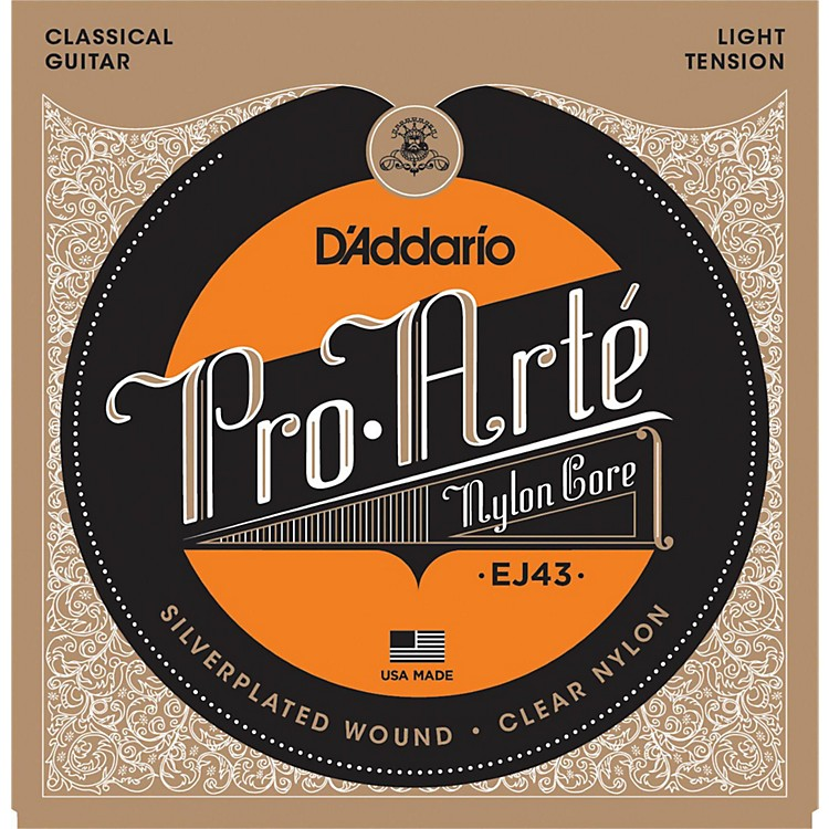 D'AddarioEJ43 Pro-Arte Light Tension Classical Guitar Strings