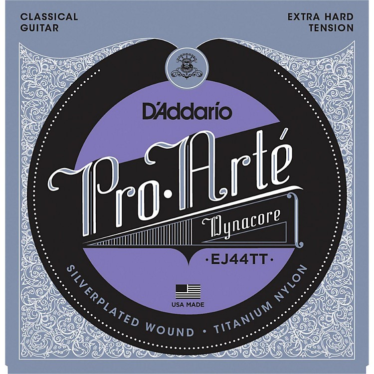 D'AddarioEJ44TT ProArte Dynacore Extra Hard Classical Guitar Strings