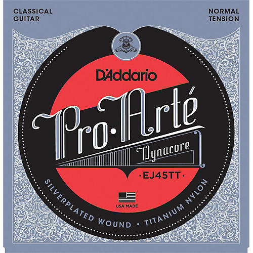 D'Addario EJ45TT ProArte DynaCore Normal Classical Guitar Strings
