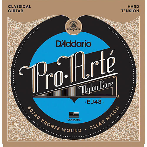 D'Addario EJ48 Pro-Arte 80/20 Hard Classical Guitar Strings