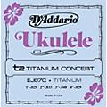 D'Addario EJ87C Titanium Concert Ukulele Strings