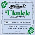 D'Addario EJ87S Titanium Sopranto Ukulele Strings