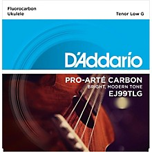 D'Addario EJ99TLG Pro-Arte Carbon Tenor Low G Ukulele Strings