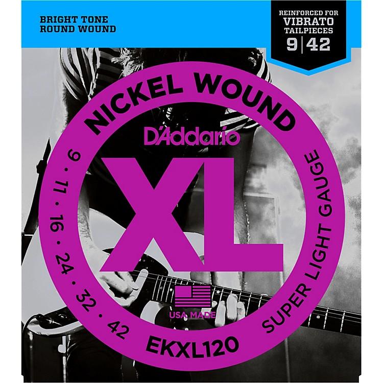 D'AddarioEKXL120 Tremolo 009 Super Light Electric Guitar Strings