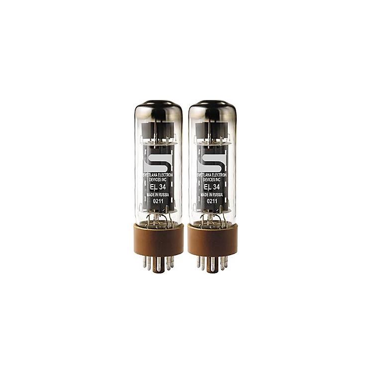 SvetlanaEL34 Matched Power TubesMedium/GreenQuartet