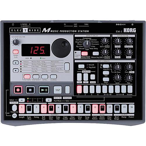 Korg EM-1 Electribe with Backpack-thumbnail