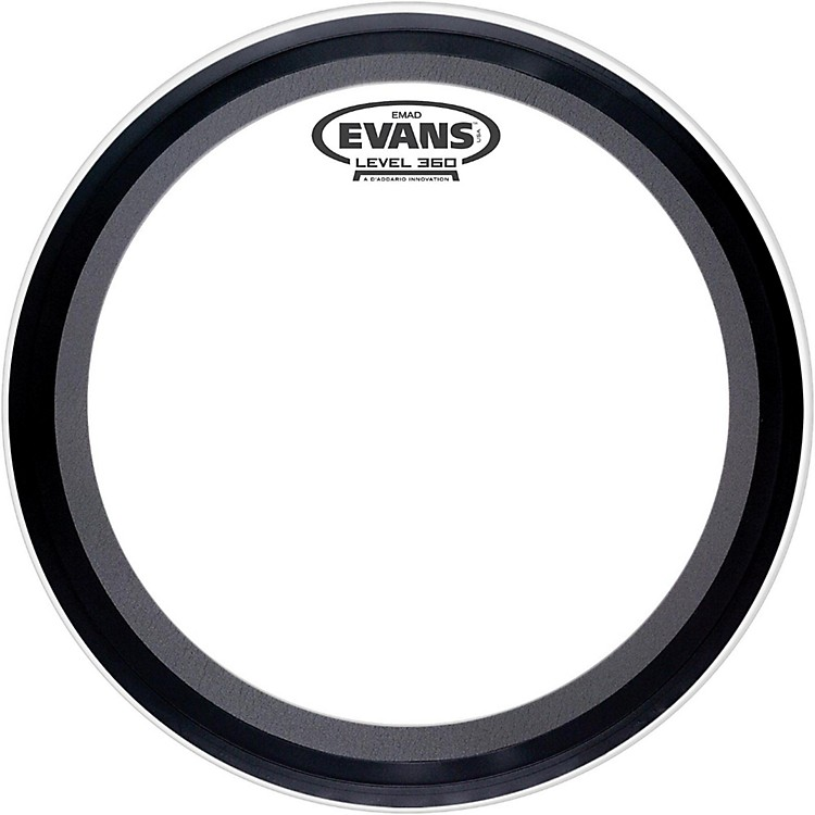 Evans EMAD 2 Clear Batter Bass Drumhead  24 Inch