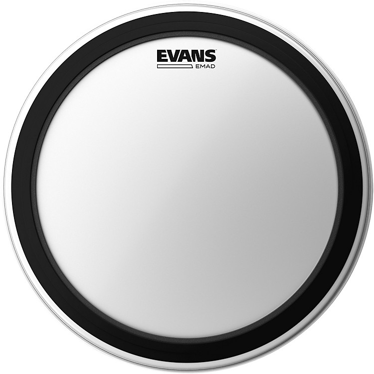 Evans EMAD Coated Bass Batter Drumhead  22 Inch