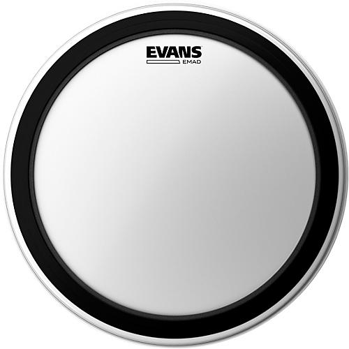 Evans EMAD Coated Bass Drum Batter Head-thumbnail