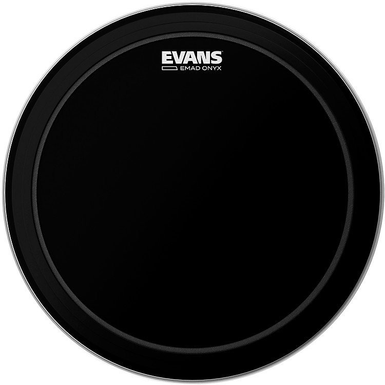 Evans EMAD Onyx Bass Batter Drumhead 20inch