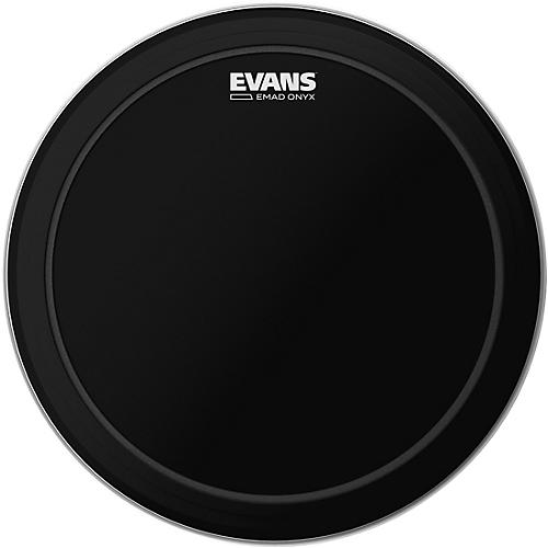 Evans EMAD Onyx Bass Batter Drumhead